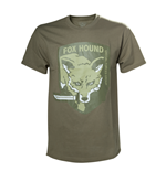 T-shirt Metal Gear 239498