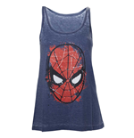Canotta Marvel Superheroes Spiderman Head Paint da donna