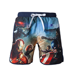 Costume da bagno Marvel Superheroes Capitan America Civil War