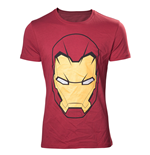 T-shirt Marvel - Civil War Iron Man Mask