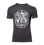 T-shirt Assassin's Creed - Florel Crest Logo