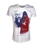 T-shirt Assassin's Creed Unity - Arno in French flag