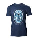 T-shirt Assassin's Creed - Find Your Past Brain Crest