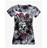 "T-shirt Alchemy Mild ""Spider Rose"" Tie Dye"