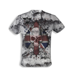"T-shirt Alchemy - "" Ace of England Skull"""
