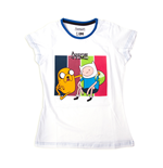 T-shirt Adventure Time - Jake and Finn