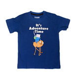 T-shirt Adventure Time - It's Time