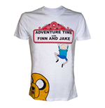 T-shirt Adventure Time - 'Finn and Jake'