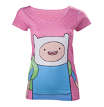 T-shirt Adventure Time - Finn with Dots