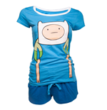 Pigiama corto Adventure Time da donna