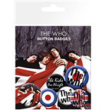 Who (The) - Lyrics And Logos (Badge Pack)