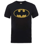 Dc Comics - Originals Batman Crackle Logo (T-SHIRT Unisex TG. 2)