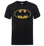Dc Comics - Originals Batman Crackle Logo (T-SHIRT Unisex )