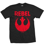 Star Wars - Episode Vii Rebel (T-SHIRT Unisex TG. 2)