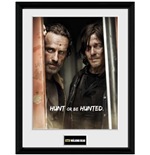 Walking Dead (The) - Rick & Daryl (Foto In Cornice 30x40cm)
