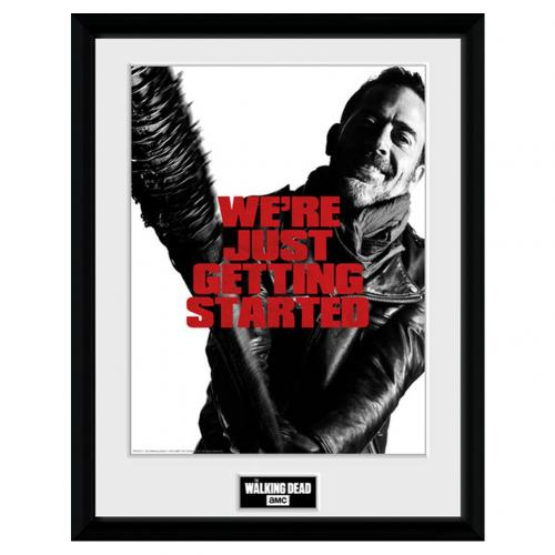 Stampa Incorniciata The Walking Dead Negan 40 x 30 cm