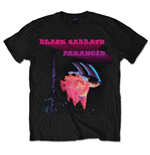 T-shirt Black Sabbath Paranoid Motion Trails