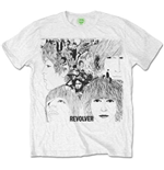 T-shirt The Beatles Revolver Album Cover