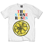T-shirt The Stone Roses Logo Lemon Multicolour