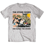 T-shirt The Stone Roses She Bangs The Drums