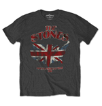 T-shirt The Rolling Stones Union Jack US Map