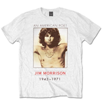 T-shirt The Doors American Poet