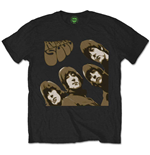 T-shirt The Beatles Rubber Soul Sketch
