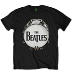 T-shirt The Beatles Original Drum Skin