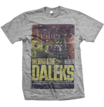 T-shirt StudioCanal da uomo - Design: Dr Who & The Daleks