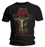 T-shirt Slayer Cruciform Skeletal