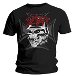 T-shirt Slayer Graphic Skull
