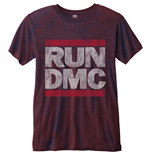 T-shirt Run DMC Logo Vintage