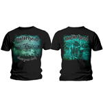 T-shirt Motorhead Clean Your Clock Green