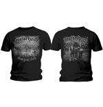 T-shirt Motorhead Clean Your Clock B&W