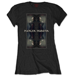 T-shirt Marilyn Manson Mirrored