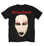 T-shirt Marilyn Manson Red Lips