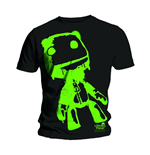 T-shirt Little Big Planet Sack Boy Green