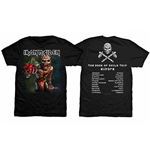 T-shirt Iron Maiden The Book of Souls European Tour