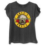 T-shirt Guns N' Roses Circle Logo da donna