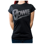 T-shirt David Bowie Flash Logo