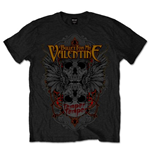 T-shirt Bullet For My Valentine Winged Skull