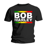 T-shirt Bob Marley Rasta Band Block