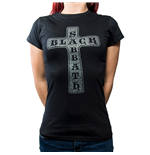 T-shirt Black Sabbath Cross