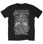 T-shirt Asking Alexandria Skull Stack
