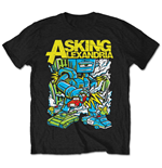 T-shirt Asking Alexandria Killer Robot