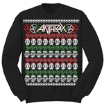 Felpa Anthrax Skulls Christmas