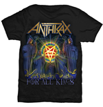 T-shirt Anthrax For All Kings Cover