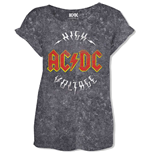 T-shirt AC/DC Logo High Voltage