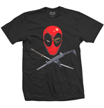 T-shirt Deadpool Crossbones