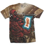 T-shirt Deadpool Deadpool Bang
